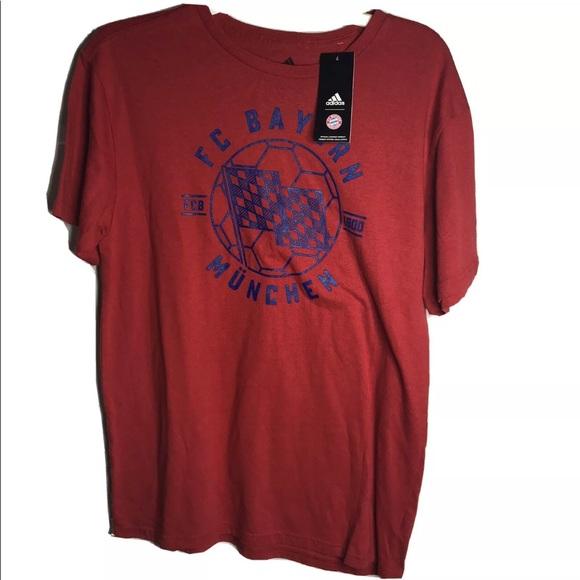 Adidas FC Bayern Munich Soccer Football T Shirt M
